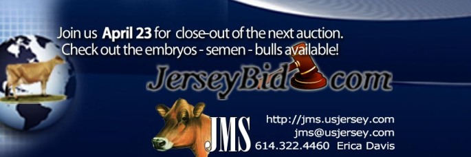 Jersey Bid Banner