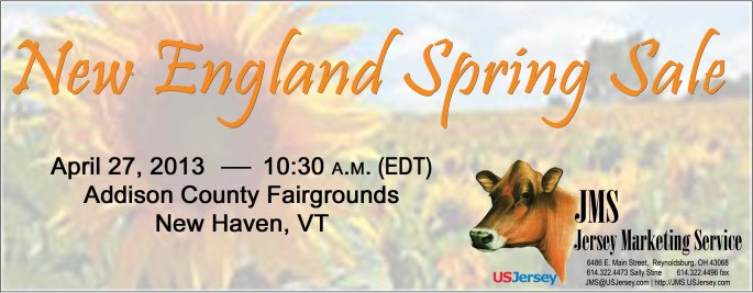 New England Spring Sale