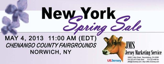 New York Spring Sale