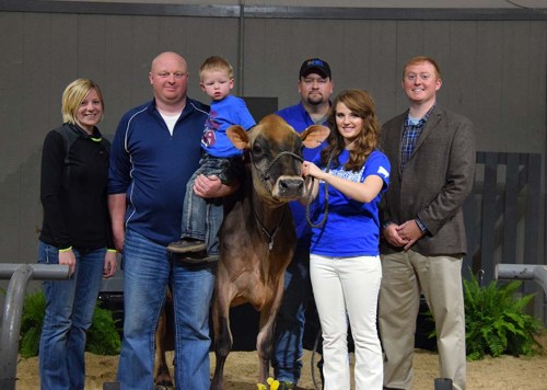 Top Selling Lot 44 was also the Grand Champion of the Kentucky National Show and Sale today.