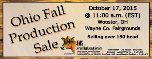 The long standing Ohio Fall Sale consignment deadline will be approaching soon. Submit your consignments to this production sale.