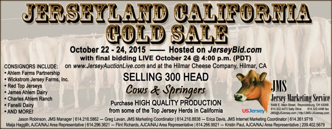 CA Gold FALL Sale