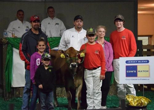 Lot 125, Bohnerts Isaac Vipor from Bohnerts Jerseys, IL, was sold for %6,500 to Cole Provost, MI.