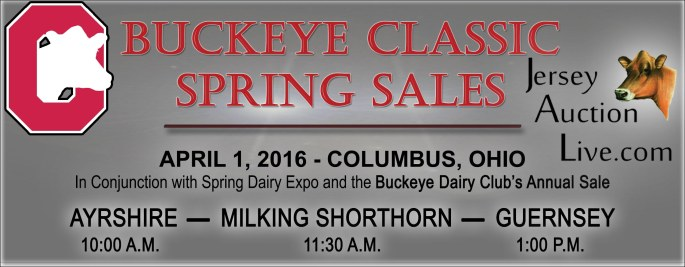 ALL the Buckeye Classic Spring Breed Sales will be available for online bidding!