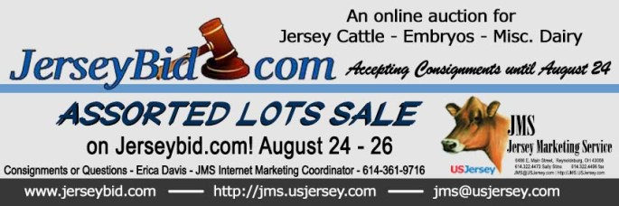 Sale is ON NOW! Place your bids at www.jerseybid.com