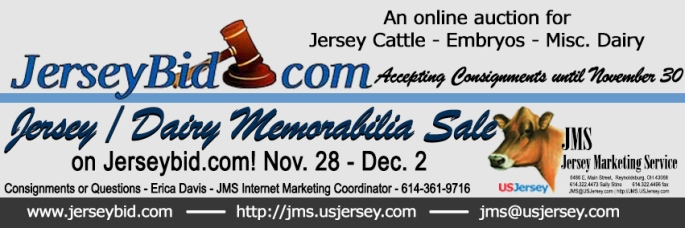 Consign to this online dairy / jersey memorabilia sale until end of the day November 30.