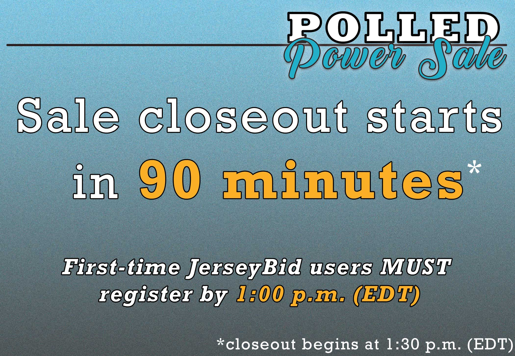 Polled-Power-Closeout